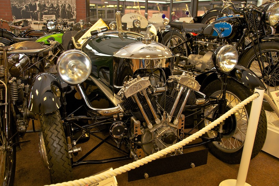 Motorcycle Museums In England